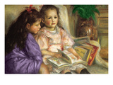 The Children of Caillebotte Poster by Pierre-August Renoir