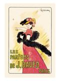 Les Parfumes De J. Daver Print by Leonetto Cappiello