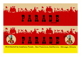 Parade Broom Label Art