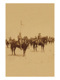 Ninth U.S. Cavalry--Famous Colored Regiment--Draw Sabers! Prints by  Strohmeyer & Wyman