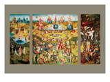 The Garden of Earthly Delights Poster af Hieronymus Bosch