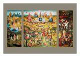 Hieronymus Bosch - The Garden of Earthly Delights - Tablo