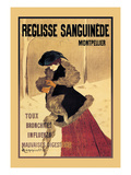 Reglisse Sanguinede Prints by Leonetto Cappiello