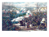 Battle of Pea Ridge or Elkhorn Tavern Affischer