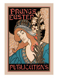 Prang&#39;s Easter Publications Prints by Louis Rhead