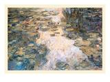 Le Bassin Aux Nympheas Prints by Claude Monet
