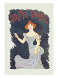 Odette Dulac Posters by Leonetto Cappiello