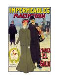Impermeables Macintosh Premium Giclee Print by Svend Johansen