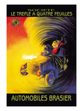 Le Automobiles Brasier Poster by Leonetto Cappiello
