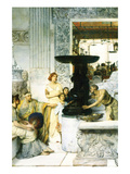 The Sculpture Gallery Póster por Sir Lawrence Alma-Tadema