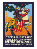 Valencia En Fa. Feria Muestrario Prints by  Simon