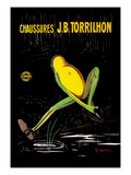 Chaussures J. B. Torrilhon Posters by Leonetto Cappiello