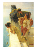 Good Vantage Point Print by Sir Lawrence Alma-Tadema