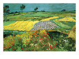 The Plains at Auvers Posters van Vincent van Gogh