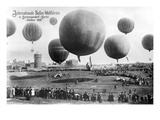 Berlin Ballon Race Photo Posters
