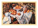 Pommes Et Oranges Prints by Paul Cézanne