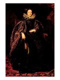 Portrait of Marchesa Balbi Prints by Sir Anthony Van Dyck