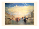 The Grand Canal, Venice Posters by Joseph Mallord William Turner