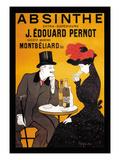 Absinthe J. Edouard Pernot Premium giclée print van Leonetto Cappiello