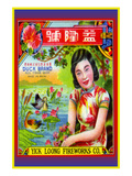 Yick Loong Fireworks Co. Duck Brand Firecracker Poster
