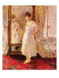 Berthe Morisot - The Cheval Glass - Reprodüksiyon