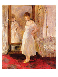 The Cheval Glass Prints by Berthe Morisot