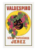 Valdespino - Smiling Mask Prints by Leonetto Cappiello