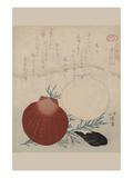 Shellfish Premium Giclee Print by Totoya Hokkei