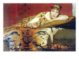 A Craving for Cherries Poster von Sir Lawrence Alma-Tadema