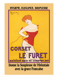 Corset Le Furet Art by Leonetto Cappiello