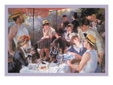 The Luncheon of the Boating Party Prints by Pierre-Auguste Renoir