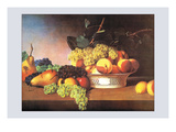 Still Life with Fruit Posters by James Peale