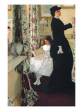 The Music Room Poster by James Abbott McNeill Whistler