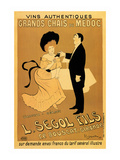 Grands Chais Du Medoc Poster by Leonetto Cappiello