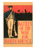 Battles of the War for Independence Posters by Henry Altemus