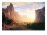 Yosemite Valley 3 Premium Giclée-tryk af Albert Bierstadt
