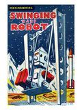 Swinging Baby Robot Prints