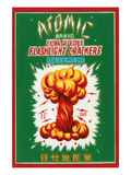 Atomic Brand Extra Selected Flashlight Crackers Posters