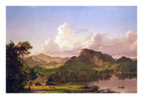 At Home on the Lake Posters by Frederic Edwin Church