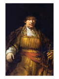 Self-Portrait [7] Posters by Rembrandt van Rijn