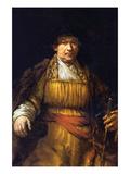 Self-Portrait [7] Prints by  Rembrandt van Rijn