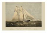 "The Yacht ""Meteor"" of New York Prints"