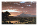 Mount Ktaadn (Katahdin) Art by Frederic Edwin Church