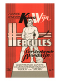 Hercules Blood Wine Poster