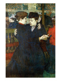Dancing a Valse Pósters por Henri de Toulouse-Lautrec