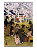 Blossom Time in Tokyo Prints by Helen Hyde