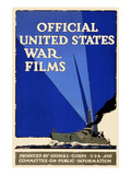 Official United States War Films Premium Giclee Print by  U.S. Gov't