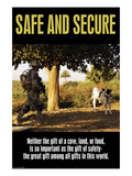 Safe and Secure Prints by Wilbur Pierce
