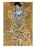 Portrait of Block-Bauer Plakat av Gustav Klimt