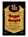 Royal Knight Blended Whiskey Prints